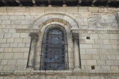 Eglise Notre-Dame - Deutsch:   Katholische Pfarrkirche Notre-Dame in La Celle-Guenand im Département Indre-et-Loire (Centre-Val de Loire/Frankreich), Fenster