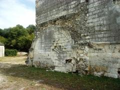 Ancienne chartreuse du Liget - Français:   Vestiges du petit cloître de la chartreuse