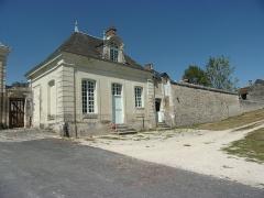 Ancienne chartreuse du Liget - Français:   Pavillon de la porterie