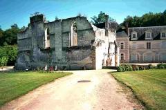 Ancienne chartreuse du Liget - Français:   Vue générale de l\'église