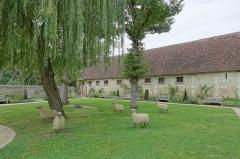 Domaine de Chenonceau - Français:   Jardin Russell Page du château de Chenonceau (Chenonceaux, Indre-et-Loire, France).