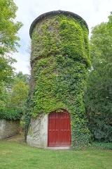 Domaine de Chenonceau - Français:   Château d\'eau à la ferme du XVIe siècle au château de Chenonceau (Chenonceaux, Indre-et-Loire, France).
