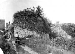 Vestiges du castellum romain -