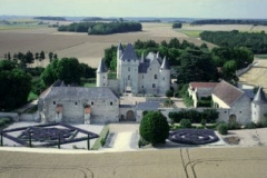 Château du Rivau -  View of the Rivau from the sky