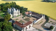 Château du Rivau -  Picture of the Chateau du Rivau from the air