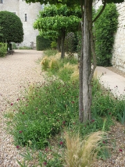 Château du Rivau - English: Garden of the Château du Rivau