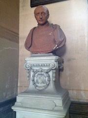 Maison du 16e siècle - Français:   Buste de Guillaume d\'Estouteville.