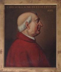 Maison du 16e siècle - English:   Cardinal Guillaume d\'Estouteville (d. 1483)