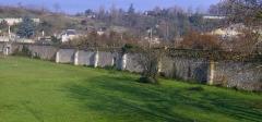 Ancienne abbaye de Marmoutier - English: mur d'enceinte de Marmoutier