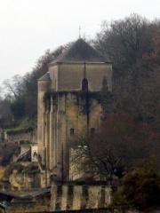 Ancienne abbaye de Marmoutier - English: Tour des cloches à Marmoutier (Tours)