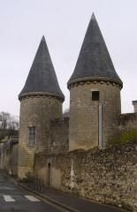 Ancienne abbaye de Marmoutier - English: Tourelles Marmoutier à Tours