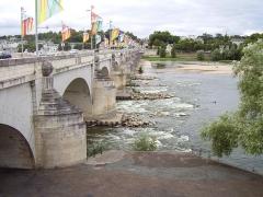 Grand Pont, dit Pont de pierre ou Pont Wilson -  Tours, France