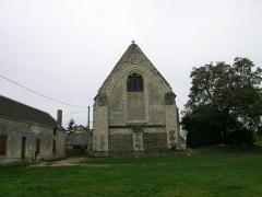 Ancienne église Saint-Pierre - Français:   Église Saint-Pierre d\'Artins