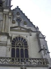 Cathédrale Saint-Louis - Cathédrale Saint-Louis de Blois (Loir-et-Cher, France), façade sud-ouest