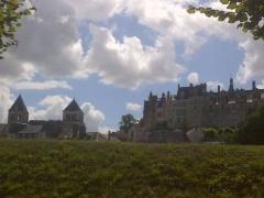 Château -  Château de Saint-Aignan, dans le Loir-et-Cher.
