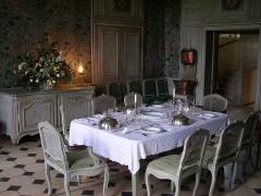 Domaine du château de Talcy - Deutsch: Schloss Talcy (Loir-et-Cher), Speisesaal