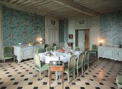 Domaine du château de Talcy - Deutsch: Schloss Talcy, Loir et Cher/Frankreich - Esszimmer