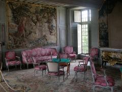 Domaine du château de Talcy - Deutsch: Schloss Talcy (Loir-et-Cher), Großer Salon