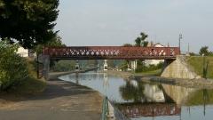 Pont-canal sur la Loire (également sur commune de Saint-Firmin-sur-Loire) -  Briare pont canal