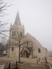 Eglise Saint-Mesmin - Français:   La Chapelle-Saint-Mesmin (Loiret, France); Église Saint-Mesmin.