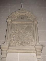 Eglise Saint-Etienne - Français:   Château-Renard - église St-Étienne - Chemin de croix - station 6