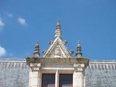 Château de Chamerolles - English: Château de Chamerolles, architectural detail