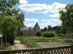 Château de Chamerolles - English: Garden of the Château de Chamerolles