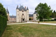 Château de Chamerolles - Deutsch: Das Schloss Chamerolles in Chilleurs-aux-Bois, Loiret