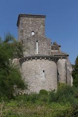 Eglise de la Très-Sainte-Trinité - Église de la Très-Sainte-Trinité ou Oratoire carolingien de Germigny-des-Prés: abside sud.