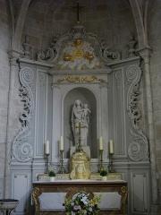 Eglise Saint-Liphard - Français:   Collégiale Saint-Liphard de Meung-sur-Loire (Loiret, France), autel de la Vierge