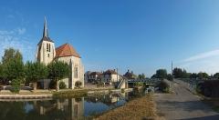 Eglise Notre-Dame et Saint-Blaise - Français:   Église Notre-Dame de Montbouy (Loiret, France)