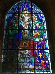 Eglise Saint-Aignan - Église Saint-Aignan d'Orléans (Loiret, France): La reine Constance confie ses joyaux au trésor de St Aignan