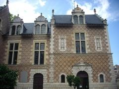 Hôtel Groslot, actuellement Hôtel de ville - Hôtel Groslot, à Orléans (Loiret, France): aile nord