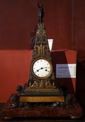 Palais Fesch - Français:   Collections du musée Fesch à Ajaccio: pendule La Pyramide, mouvement de l\'horloger parisien Claude Hémon (actif en 1812-1815) dans une caisse du bronzier d\'art parisien Pierre-Victor Ledure (actif de 1813 à 1840).