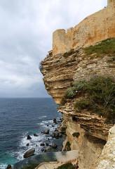 Citadelle - English:   Bonifacio, Corsica