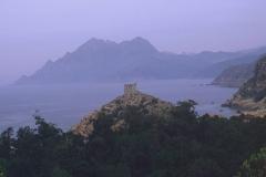 Tour génoise de Porto - Deutsch: Korsika, Porto, Genuesischer Wachturm.