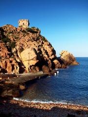 Tour génoise de Porto -  Ota (Corsica) - Tour génoise de Porto