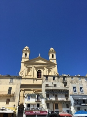 Eglise Saint-Jean-Baptiste -  Eglise Saint-Jean-Baptiste de Bastia (Haute-Corse)