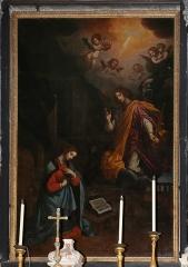 Eglise Sainte-Croix - English: Église Sainte-Croix de Bastia - Interior