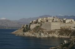 Remparts de la citadelle et Tour du Sel - Deutsch: Calvi/Korsika