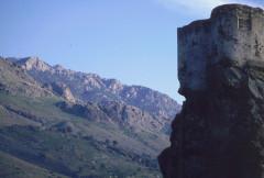 Citadelle -  Korsika, Corte, Burg