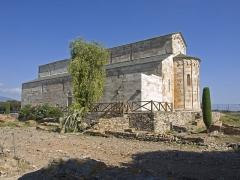 Cité antique de Mariana - English: La Canonica, Mariana, rear view