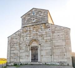 Cité antique de Mariana - English: West-facing front of the Santa Maria Assunta cathedral (