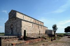 Cité antique de Mariana -  Lucciana, La Marana (Corse) - Cathédrale Santa-Maria-Assunta et le site archéologique de la colonie romaine de Mariana à la Canonica.