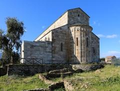 Cité antique de Mariana - English: Cathédrale Sainte Marie-de-l'Assomption de Lucciana
