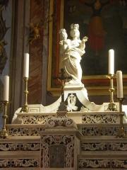 Eglise Sainte-Julie - Français:   Maître-autel de l\'église de Nonza (Haute-Corse, France).