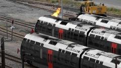 Viaduc sur le Vecchio ou pont Eiffel (également sur commune de Vivario) -  Parce que chez nous, les trains fonctionnement toujours à la vapeur! ^^  Sony NEX-5R avec un Konica Hexanon AR 200mm f/3.5 à f/5.6