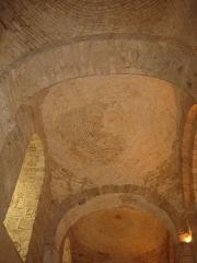Ancienne abbaye Notre-Dame - Deutsch: Steingewölbe in der Abteikirche von Bernay, Normandie, Frankreich
