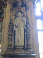 Ancienne abbaye Notre-Dame - Guillaume de Volpiano dit Guillaume de Dijon, premier abbé de Fécamp (1001-1028).