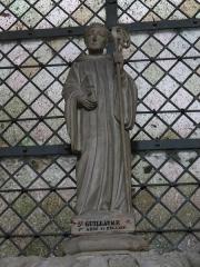 Ancienne abbaye Notre-Dame - Guillaume de Volpiano, premier abbé de Fécamp (1001-1028).